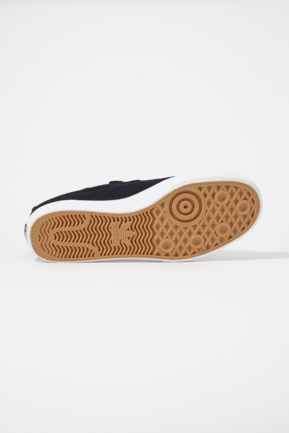 Adidas Mens Matchcourt Slip-On Shoes Black with White