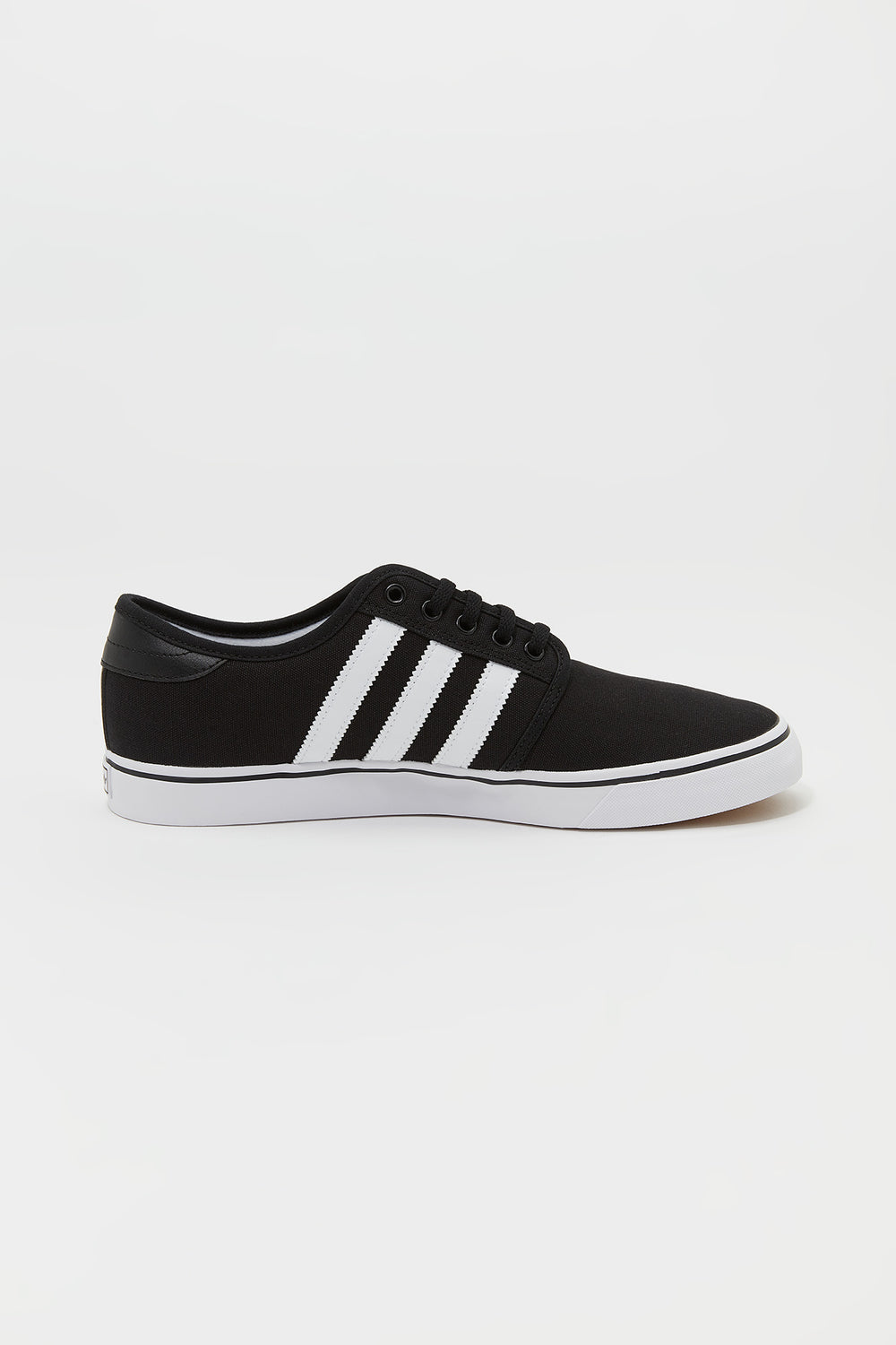 Adidas Mens Seeley Skate Shoes Black with White
