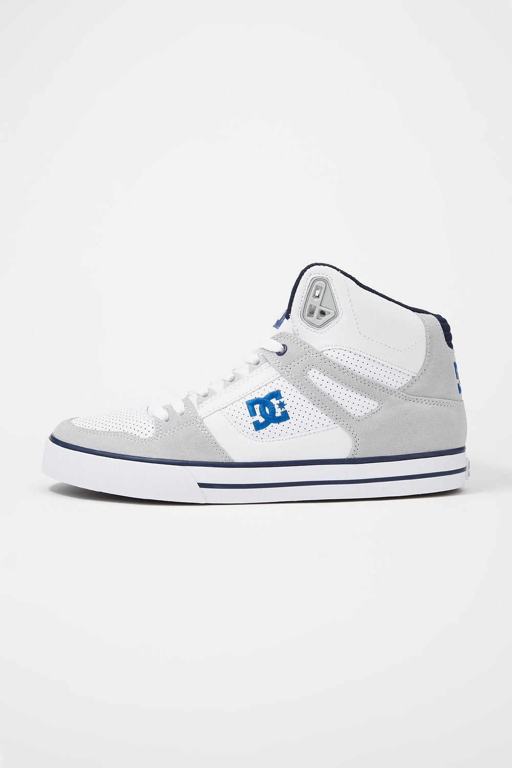DC Mens Pure High-Top Shoes White