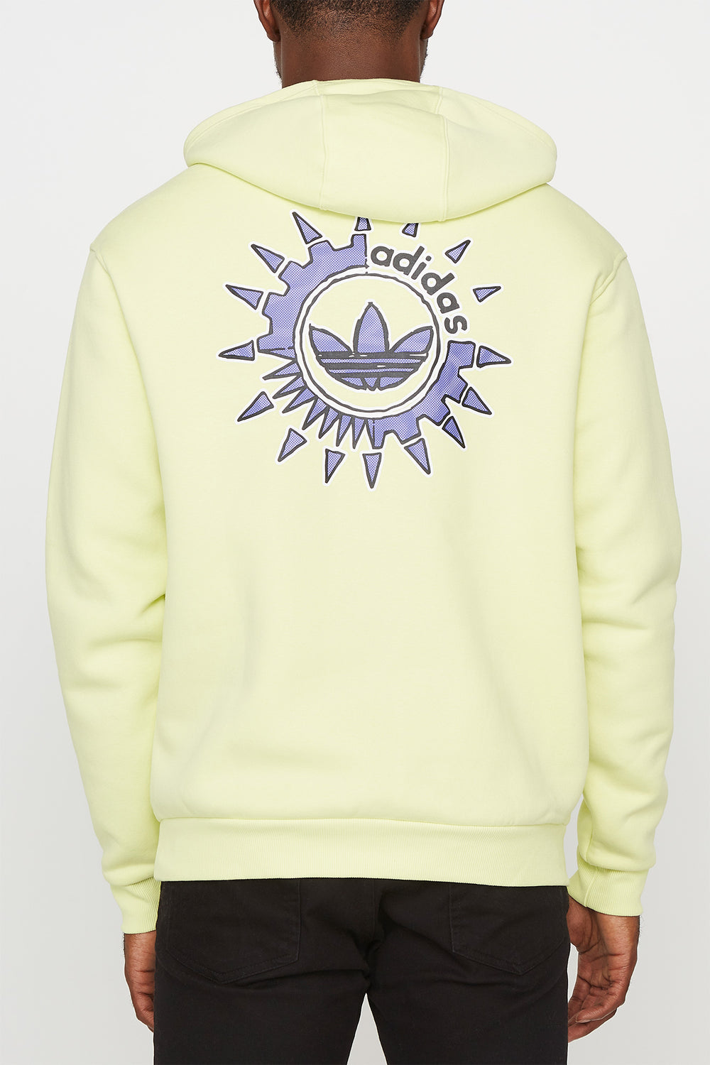 Adidas Mens SNT Originals Hoodie Yellow