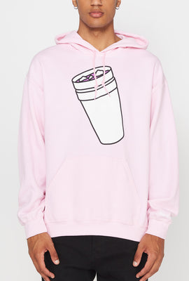 40s & Shorties Mens Double Cup Hoodie