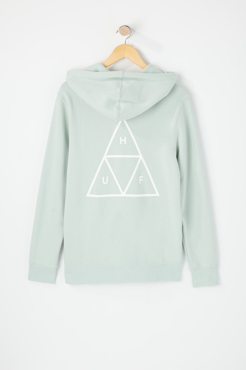 Huf Mens Triple Triangle Hoodie Light Blue