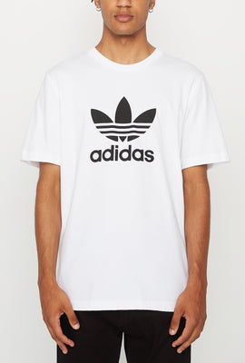 Adidas Mens Trefoil White T-Shirt
