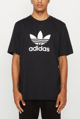 Adidas Mens Trefoil Black T-Shirt