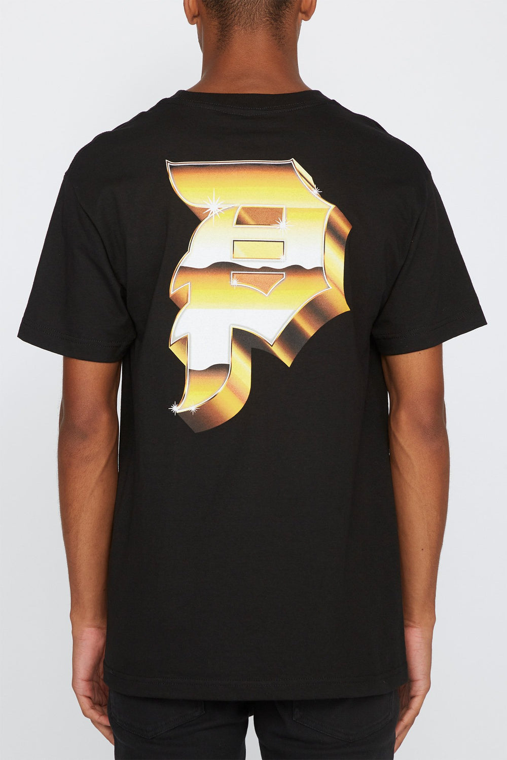 Primitive Mens Heavyweight Dirty P Logo T-Shirt Black
