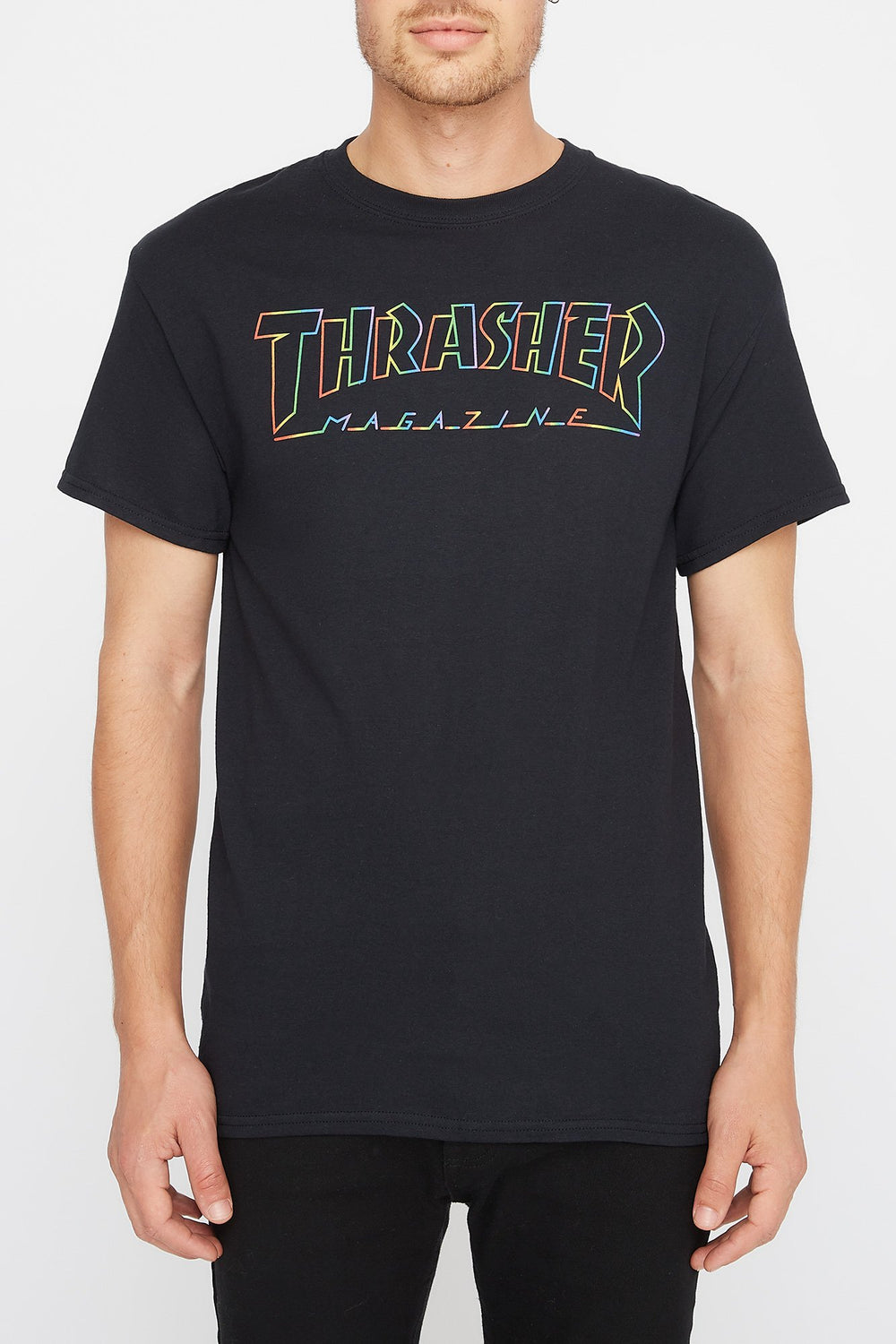 Thrasher Spectrum T-Shirt Black