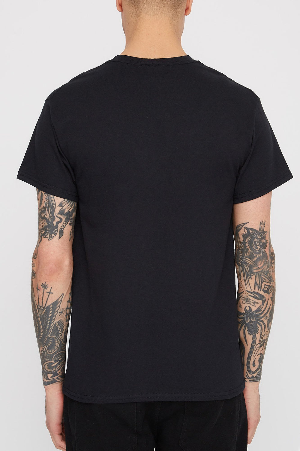 T-Shirt Thrasher Intro Burner Homme Noir