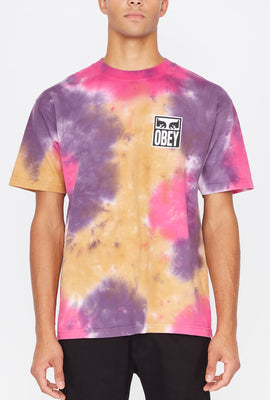 Obey Eyes Icon 2 Tie-Dye T-Shirt