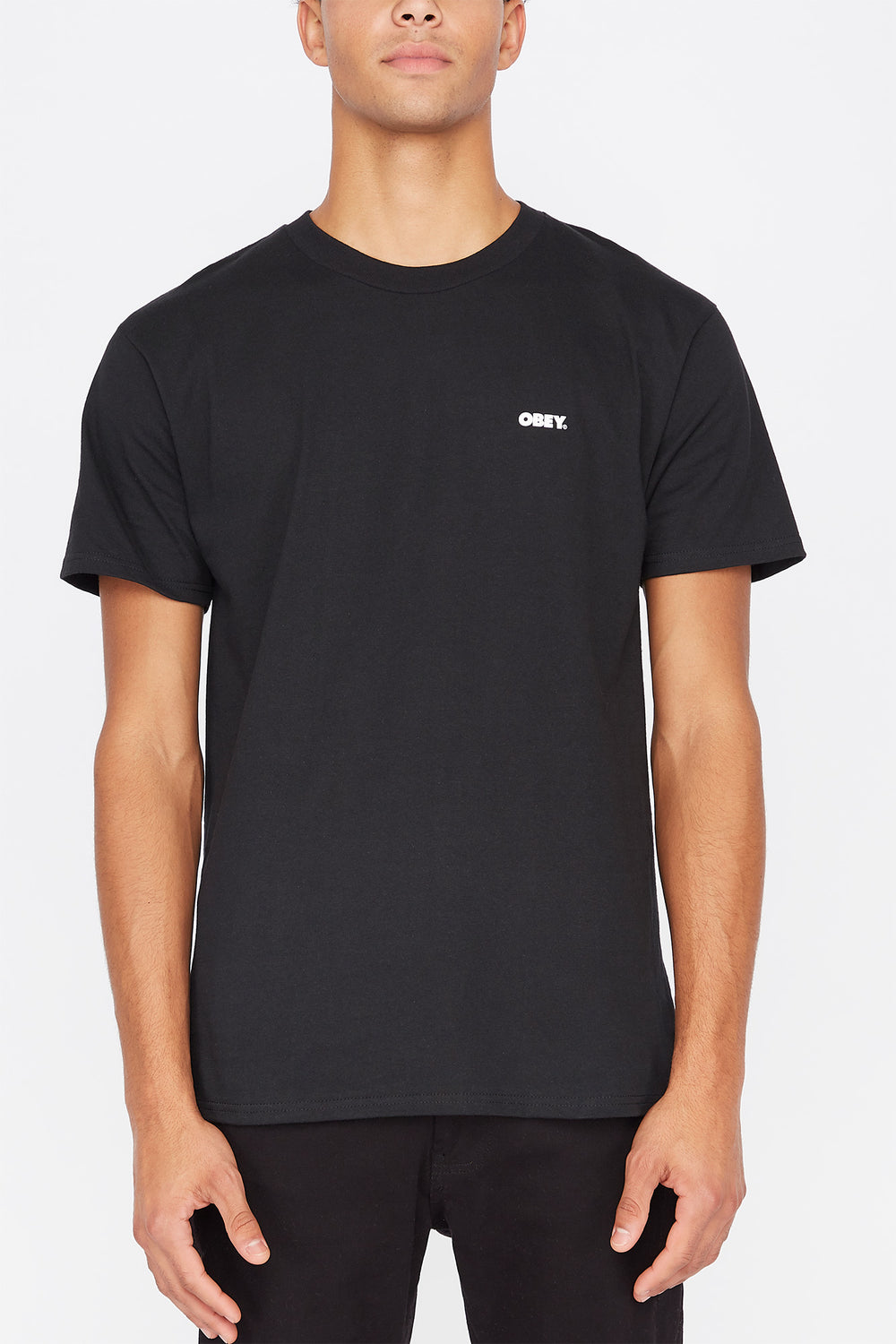 T-Shirt Power & Equality Obey Noir
