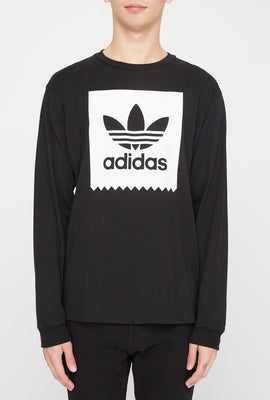 Adidas Mens Skater Long Sleeve Shirt