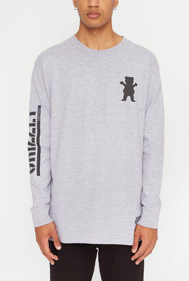 Grizzly Mens Mini Bear Long Sleeve