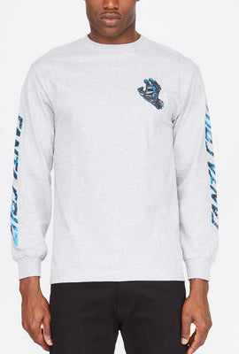 Santa Cruz Hand Splatter Long Sleeve Shirt