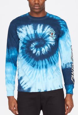 Santa Cruz Screaming Hand Tie-Dye Long Sleeve