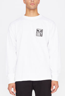 T-Shirt Manches Longues Eyes Icon 2 Obey