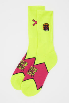 Odd Sox Mens Ultimate Warrior Crew Socks