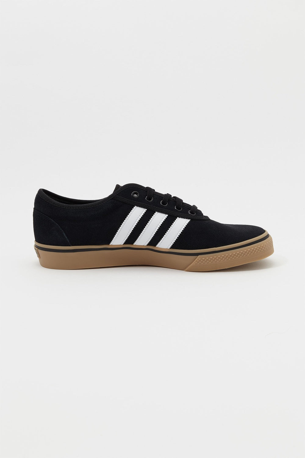 Adidas Mens Adi-Ease Skate Shoes Pure Black