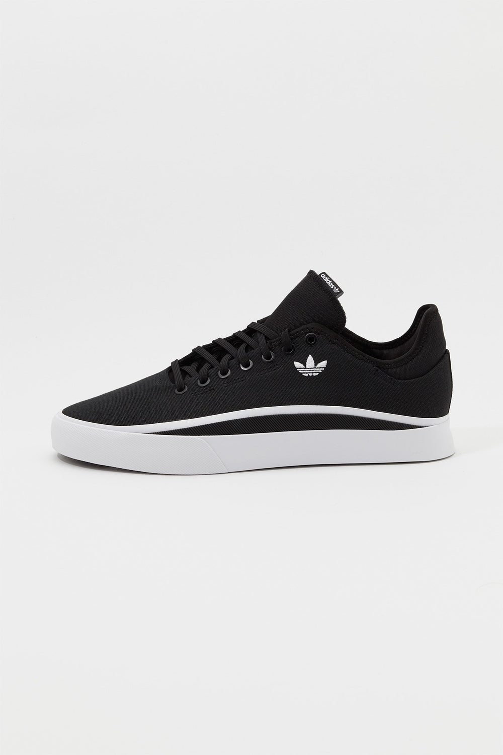 Adidas Mens Sabalo Shoes Black with White