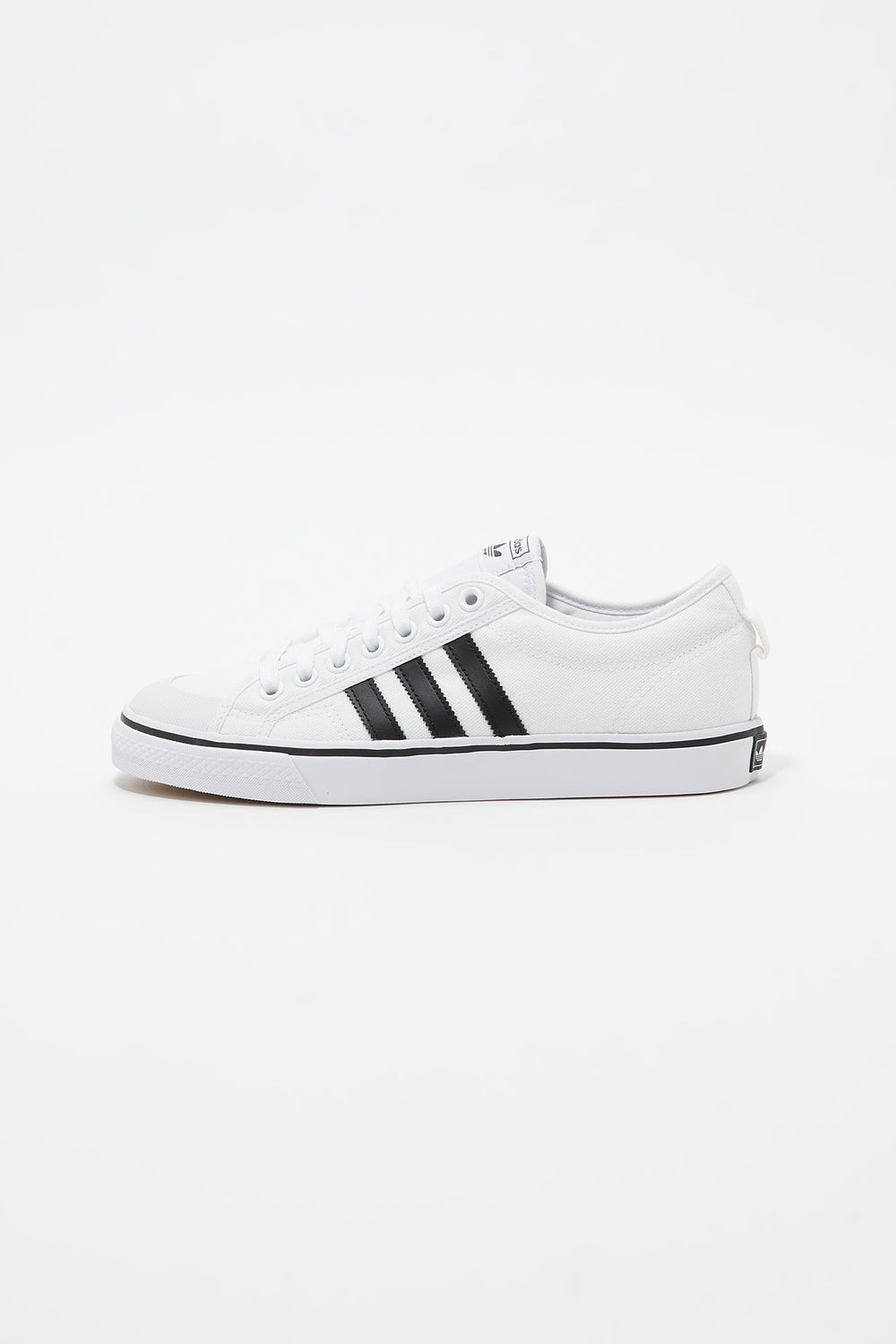 Adidas Mens White Nizza Shoes White