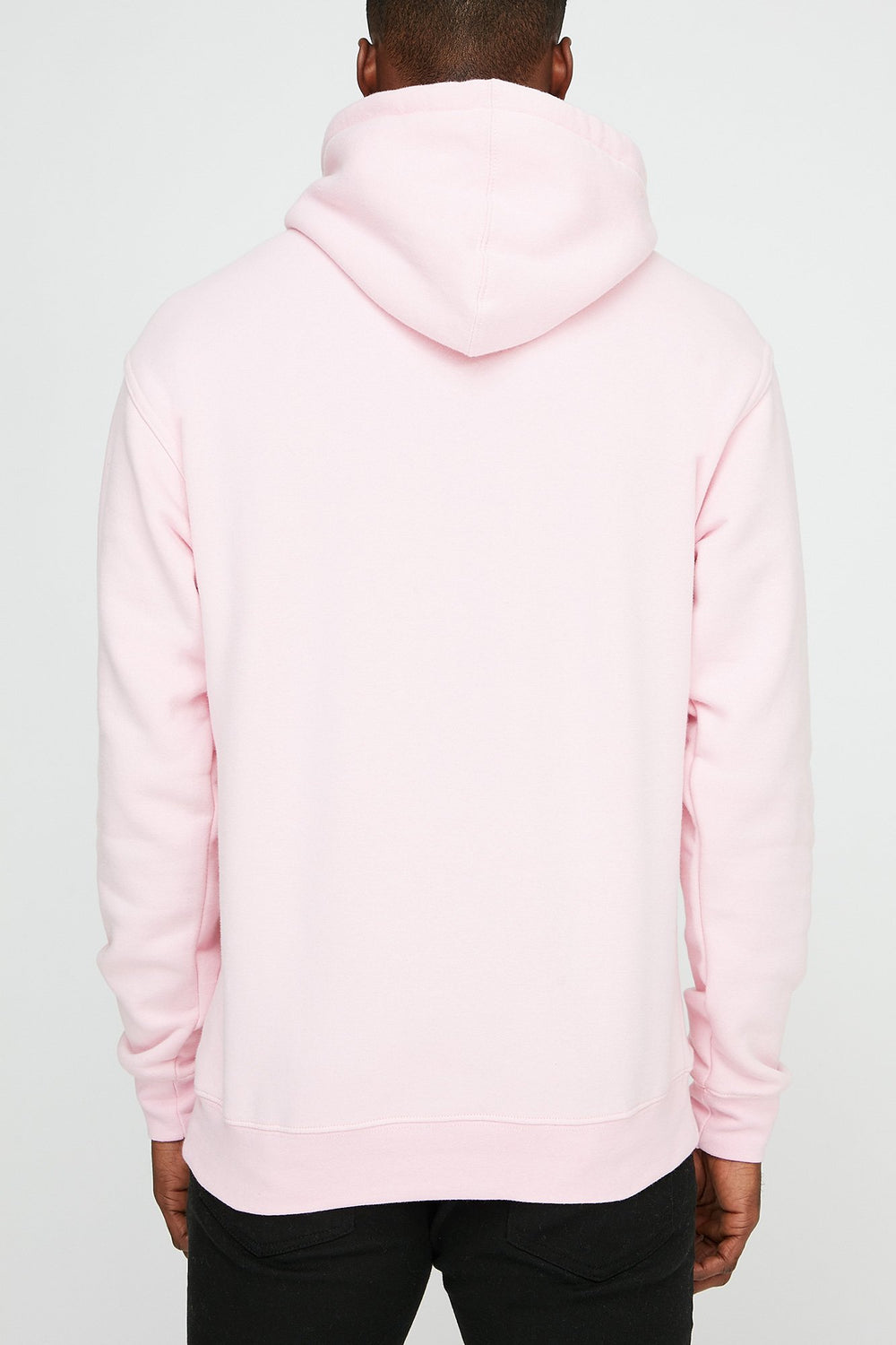 Grizzly Mens OG Bear Embroidery Hoodie Pink