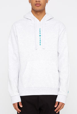 Zoo York Mens Embroidered Logo Hoodie