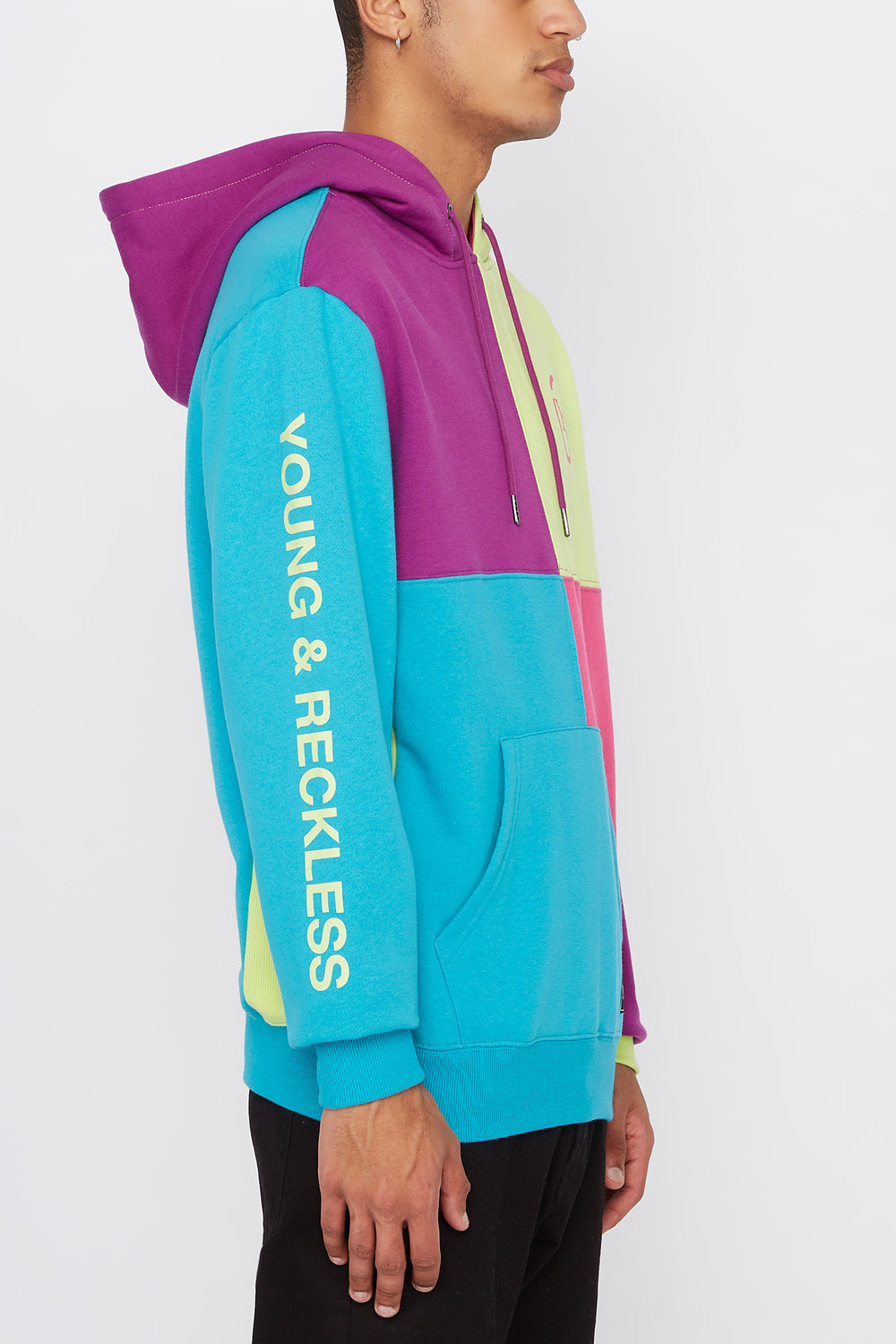 Haut à Capuchon Multicolore Young & Reckless Homme Ocean