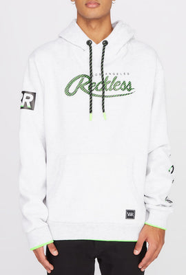 Young & Reckless Mens Neon Accented Hoodie