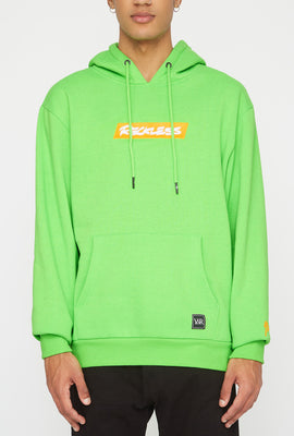 Young & Reckless Mens Neon Popover Hoodie