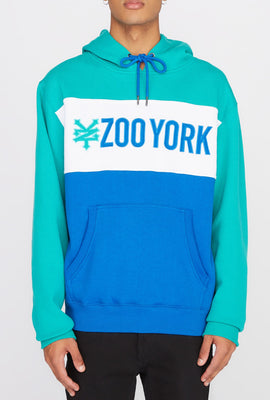 Zoo York Mens Colour Block Hoodie