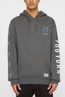 Zoo York Mens Rainbow Dots Hoodie