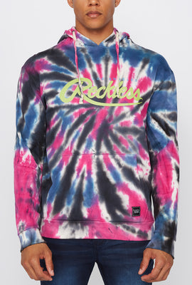 Young & Reckless Mens Tie-Dye Pullover Hoodie