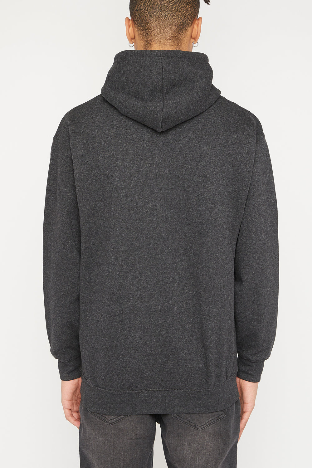 What's Up Doc Mens Hoodie Charcoal