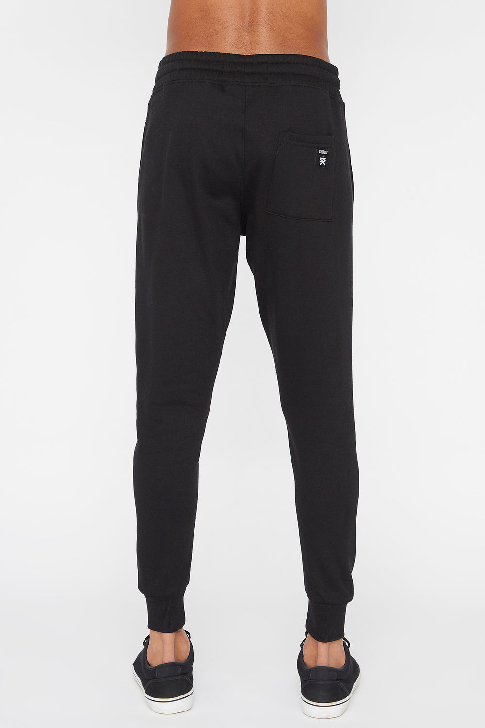 Zoo York Mens Embroidered Logo Jogger Black
