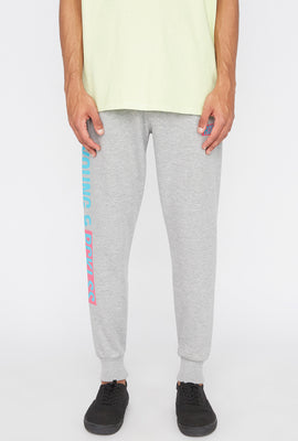 Young & Reckless Mens Neon Jogger