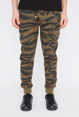 Jogger Camouflage Tigré Young & Reckless Homme