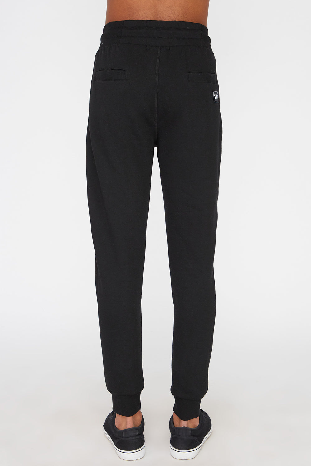 Joggers Avec Accents Fluo Young & Reckless Homme Noir