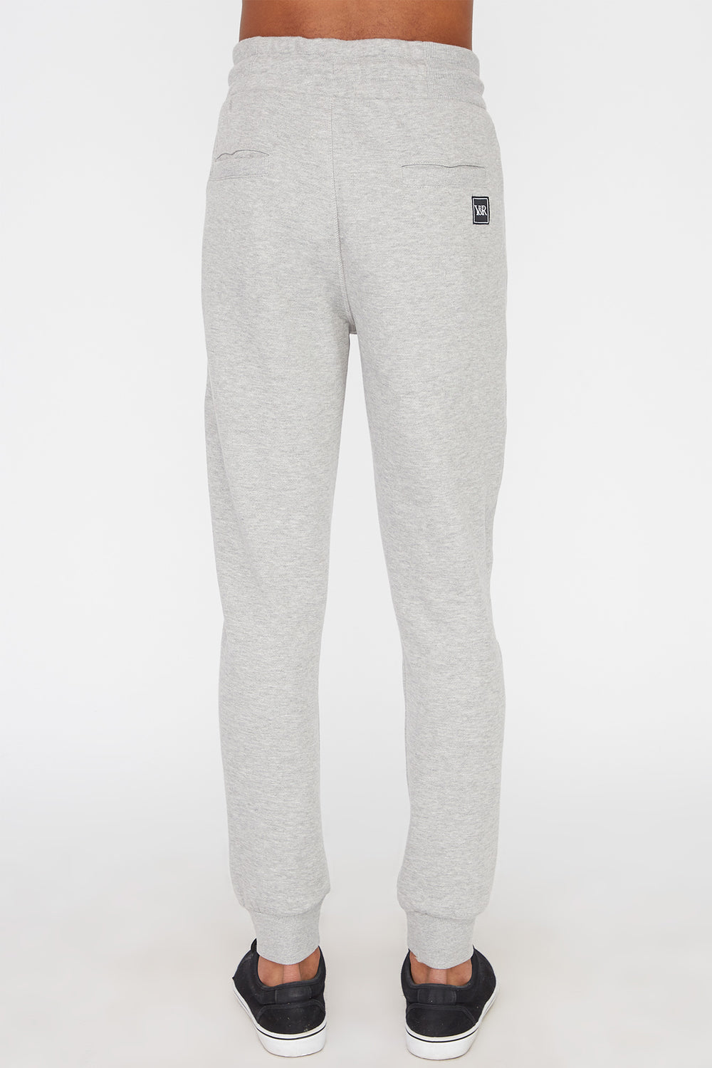 Joggers Avec Accents Fluo Young & Reckless Homme Gris