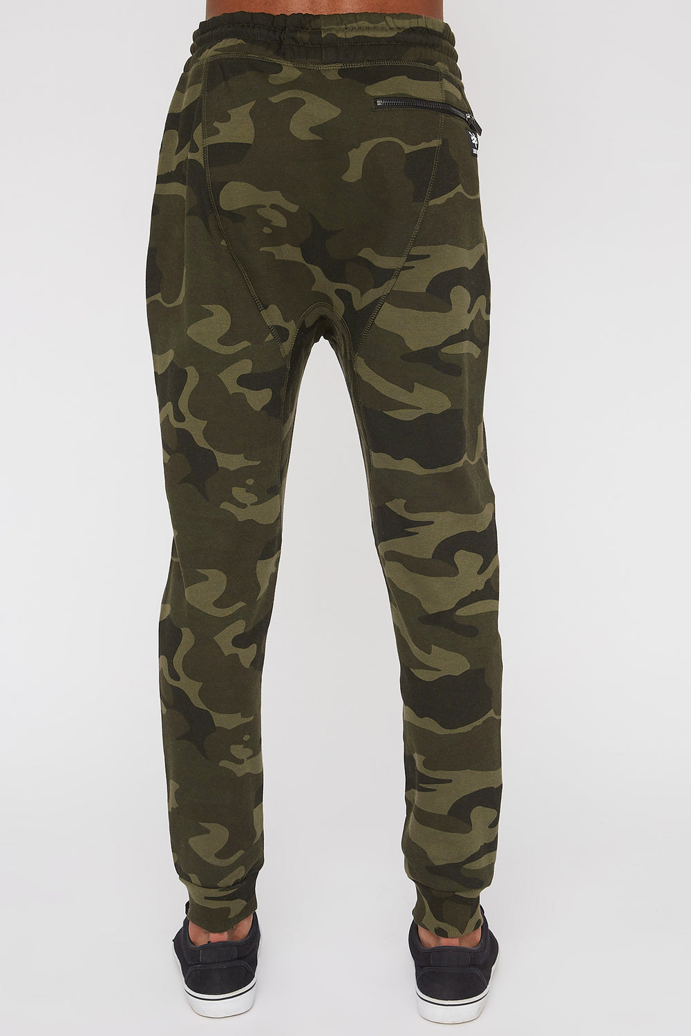 Zoo York Mens 3-Pocket Camo Jogger Camouflage