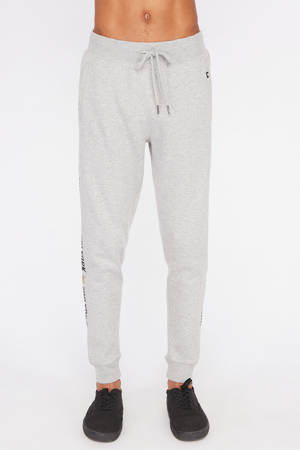 Zoo York Mens Basic Logo Jogger Heather Grey