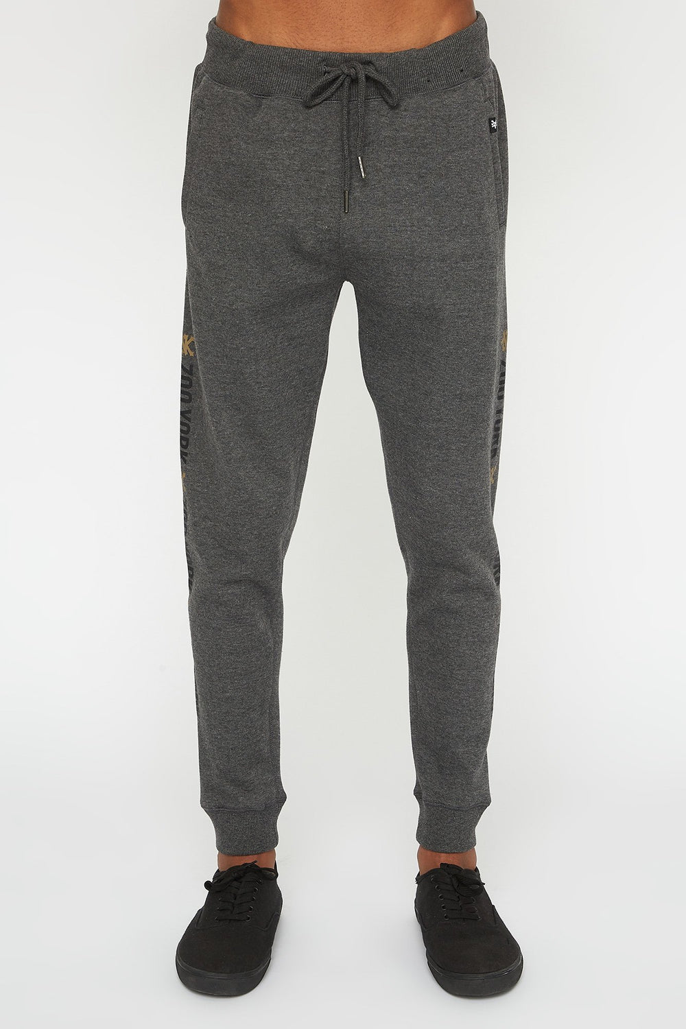 Zoo York Mens Basic Logo Jogger Charcoal