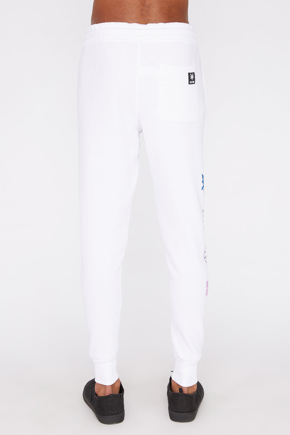 Jogger Logos Gradients Zoo York Homme Blanc