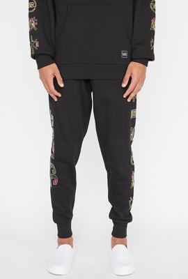 Young & Reckless Mens Electric Floral Jogger