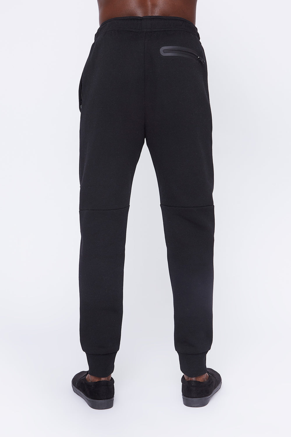 West49 Mens Spacedye Jogger Black