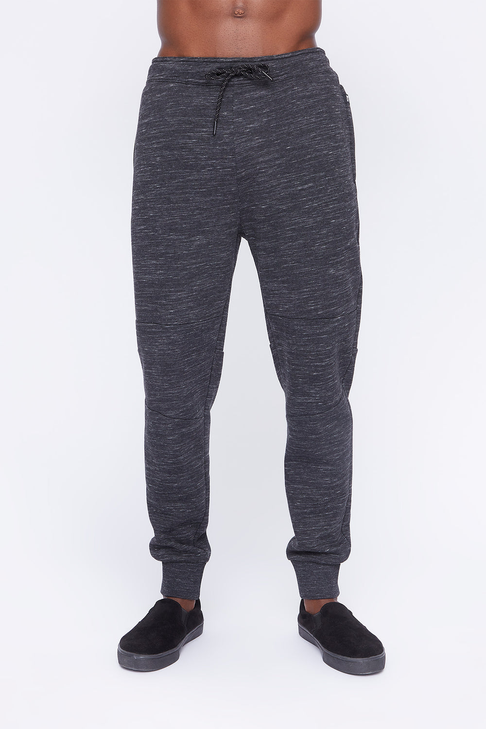 West49 Mens Spacedye Jogger Charcoal