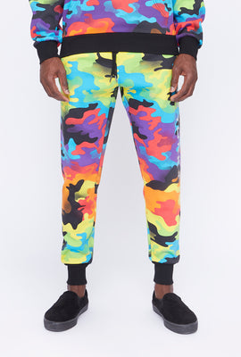 Zoo York Mens Rainbow Camo Reflective Jogger