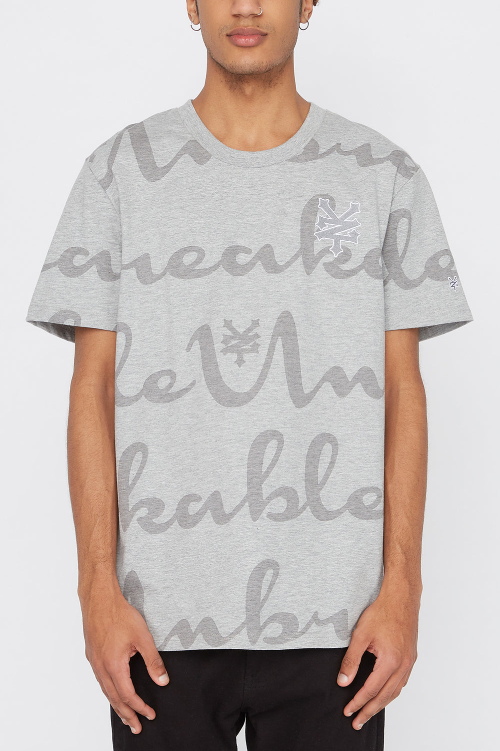 T-Shirt Zoo York Unbreakable Homme Gris