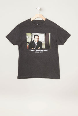 T-Shirt Imprimé The Office Homme