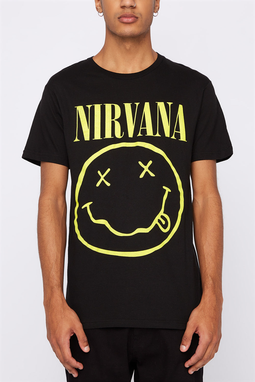 Nirvana Mens T-Shirt Black