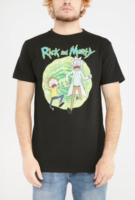 T-Shirt Rick & Morty Homme