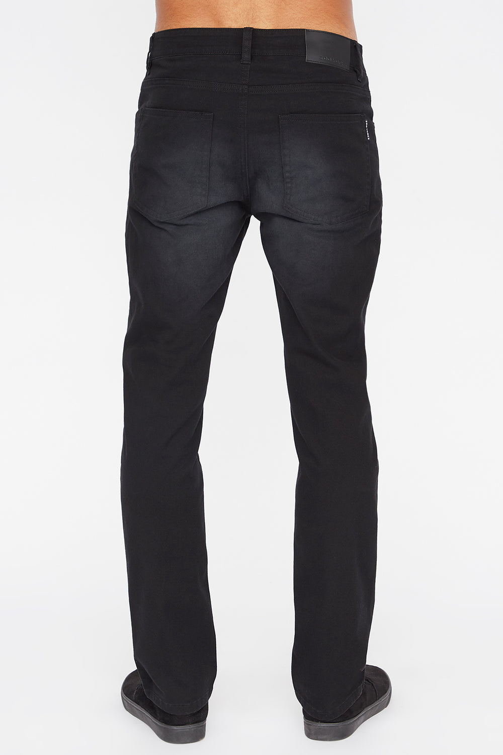 Zoo York Mens Slim Jeans Black