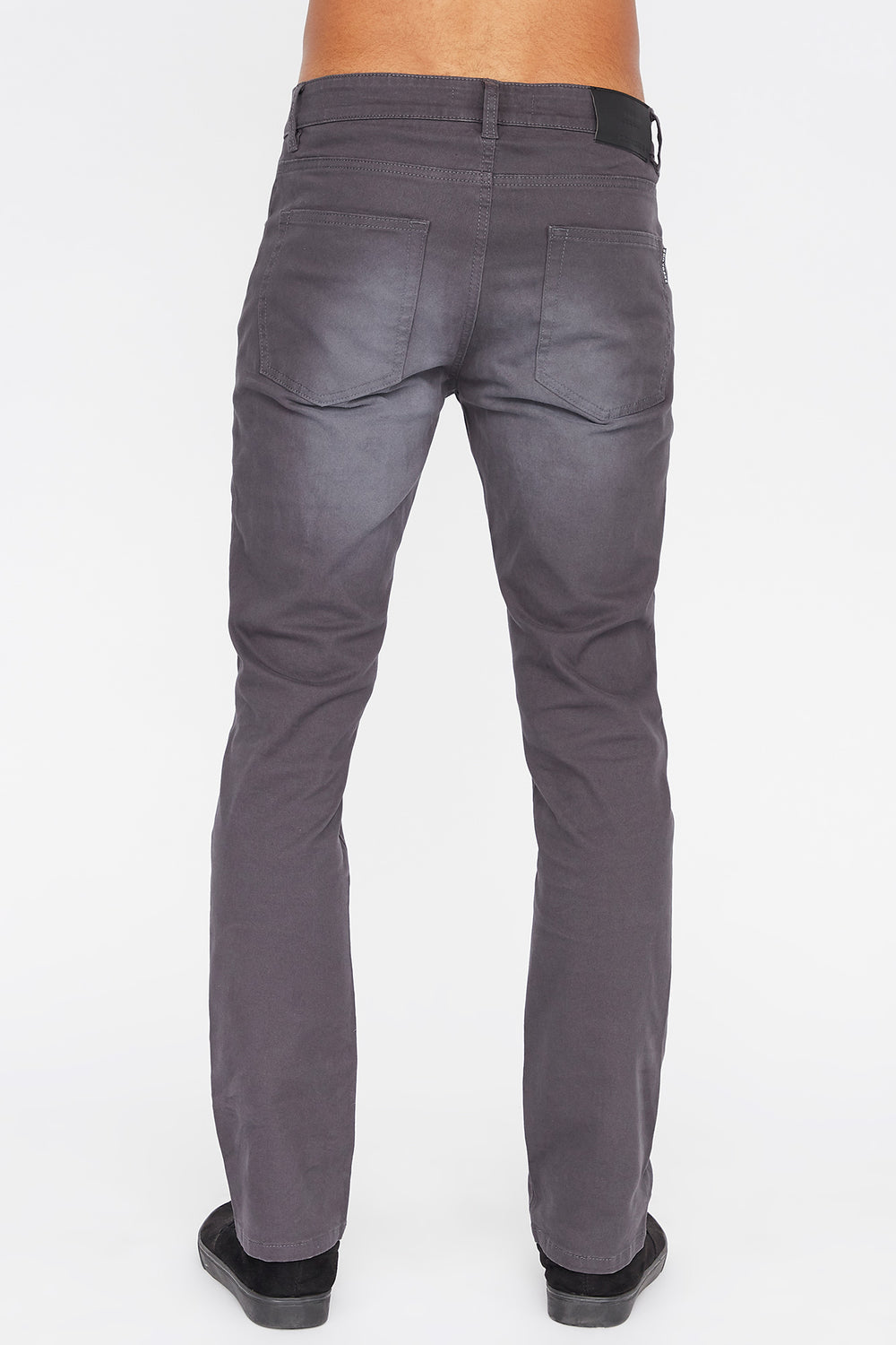 Zoo York Mens Slim Jeans Dark Blue